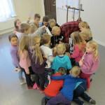 Etter forestilling, Grønli skole jan 2013