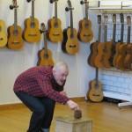 Forestilling spilt i Musikkrommet på Grønli skole.